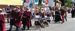 Hornické slavnosti Rudolfov 2014