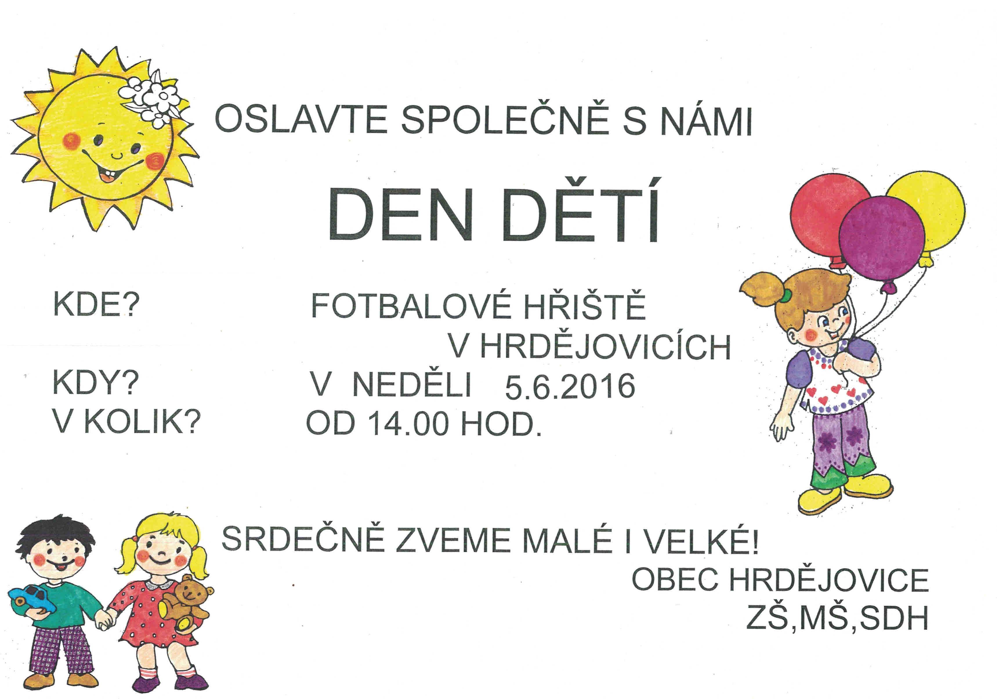 Den dětí Hrdějovice