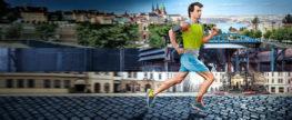 Olympijský běh v obci Hlincová Hora